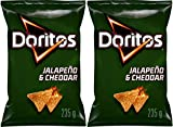 Doritos Jalapeno Cheddar 235g bag Double boxed for extra protection PACK OF TWO