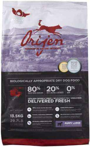 Orijen Large Breed Puppy Grain-Free Dry Dog Food, 29.7lb
