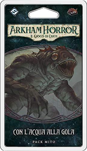 Asmodee - Arkham Horror El Juego de Cartas: con Agua a la Garganta, expansión, edición en Italiano, 9656