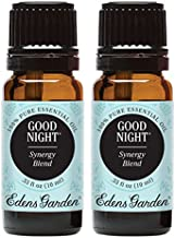 Edens Garden Good Night Essential Oil Synergy Blend, 100% Pure Therapeutic Grade (Aromatherapy Oils), 10 ml Value Pack