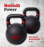 Pesa Rusa para Hombre Health Power Pro Style, Entrenamientos de HIIT, funcionales o de rigidez y condicionamiento, Rojo/Negro