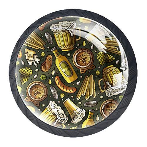 Schubladenknöpfe für Schränke, Kommoden, Glas, Ziehgriff für Schranktür, Kleiderschrank, Schrank