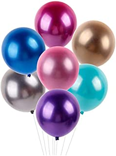 12-inch Metallic Balloons, pack of 40 Pisces, color assorted