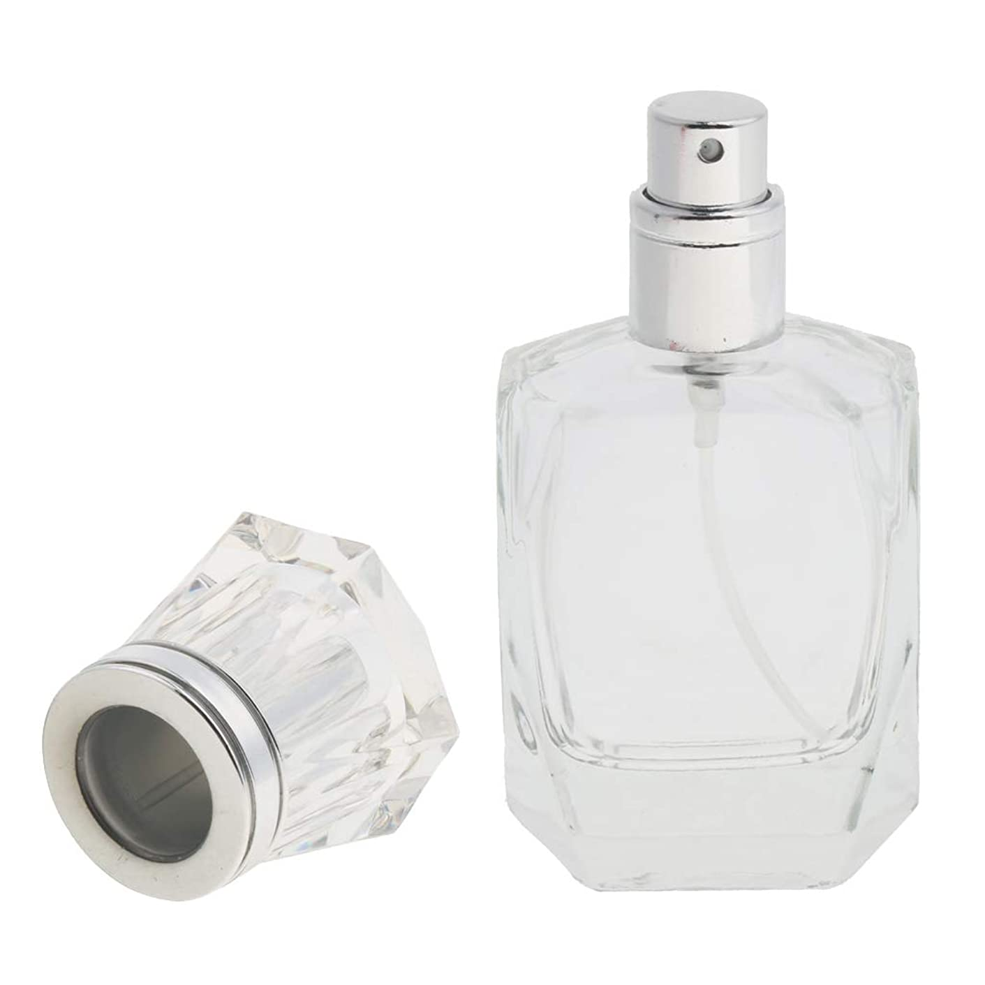 FLAMEER メイクアップボトル 香水ボトル ミストボトル ガラス 詰め替え