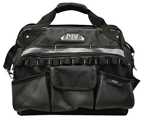 McGuire-Nicholas Power Tool Bag Organizer - Adjustable, Black - 19-1/2