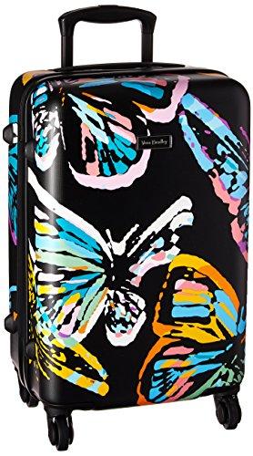 Vera Bradley Hardside Small Spinner, Butterfly Flutter Black
