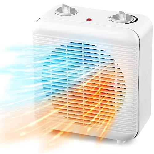 NETTA Fan Heater Electric Upright 2000W Portable Mini Heater With Two Heat...