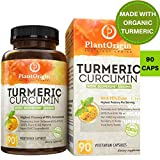Turmeric Curcumin with Bioperine 1500 mg. Highest Potency Available. Supports Pain Relief Anti-Inflammatory Joint Relief with 95% Standardized Curcuminoids. Non-GMO, Gluten-Free