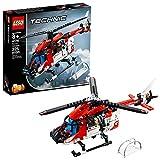 LEGO Technic Rettungs-Helicopter 42092 Bauset, Neu 2019 (325 Teile)