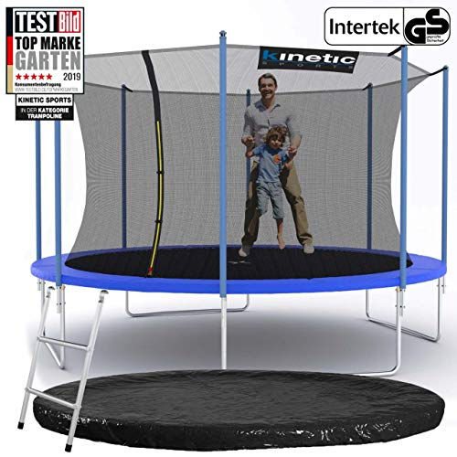 Kinetic Sports Gartentrampolin – ø 396 cm