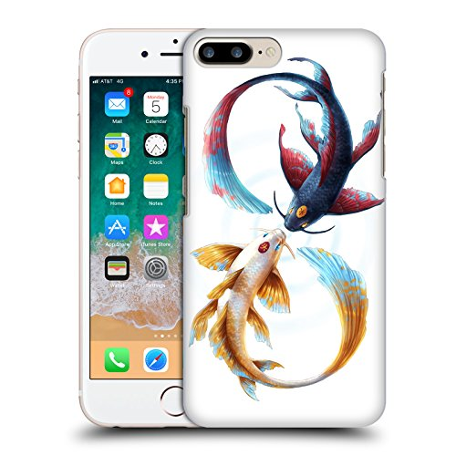 Head Case Designs Licenza Ufficiale Jonas JoJoesArt Jödicke Koi Legame Eterno Animali Selvatici Cover Dura per Parte Posteriore Compatibile con Apple iPhone 7 Plus/iPhone 8 Plus