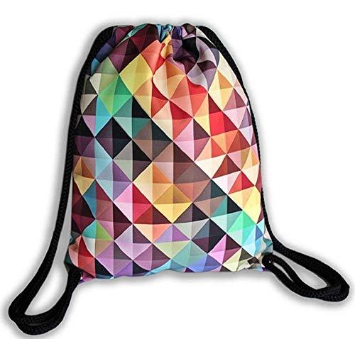 Tasche-Rucksack Stoff Aufdruck Motiv