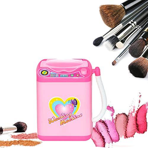 Maquillaje Limpiador de pinceles Dispositivo Mini Simulación Muebles de casa de muñecas Limpieza automática Lavadora Mini juguete