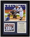 Legends Never Die New York Yankee Derek Jeter 3000th Hit Collectible | Framed Photo Collage Wall Art Decor - 12'x15'