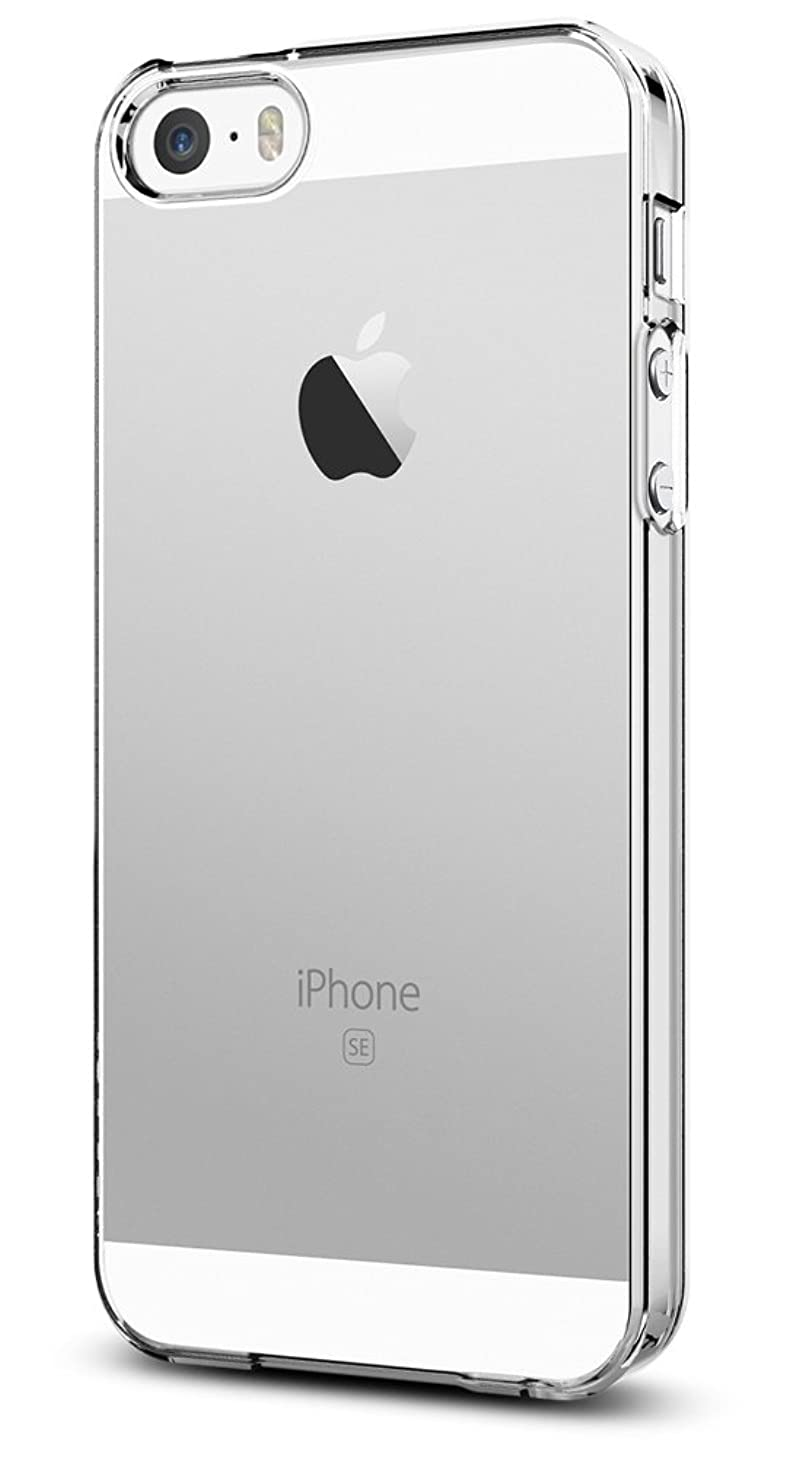 Spigen Thin Fit Designed for Apple iPhone SE Case (2016) - Crystal Clear