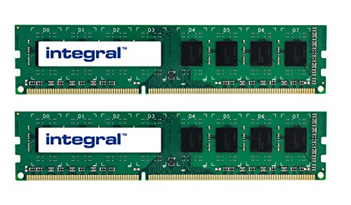 Integral 8GB (2x4GB) DDR3 1066 MHz DIMM CL7 Desktop Memory Kit