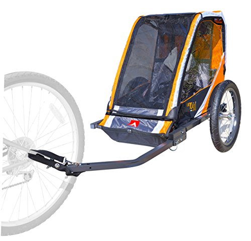 Check Out This Allen Sports 1-Child Steel Bicycle Trailer- Orange, Model T1-O