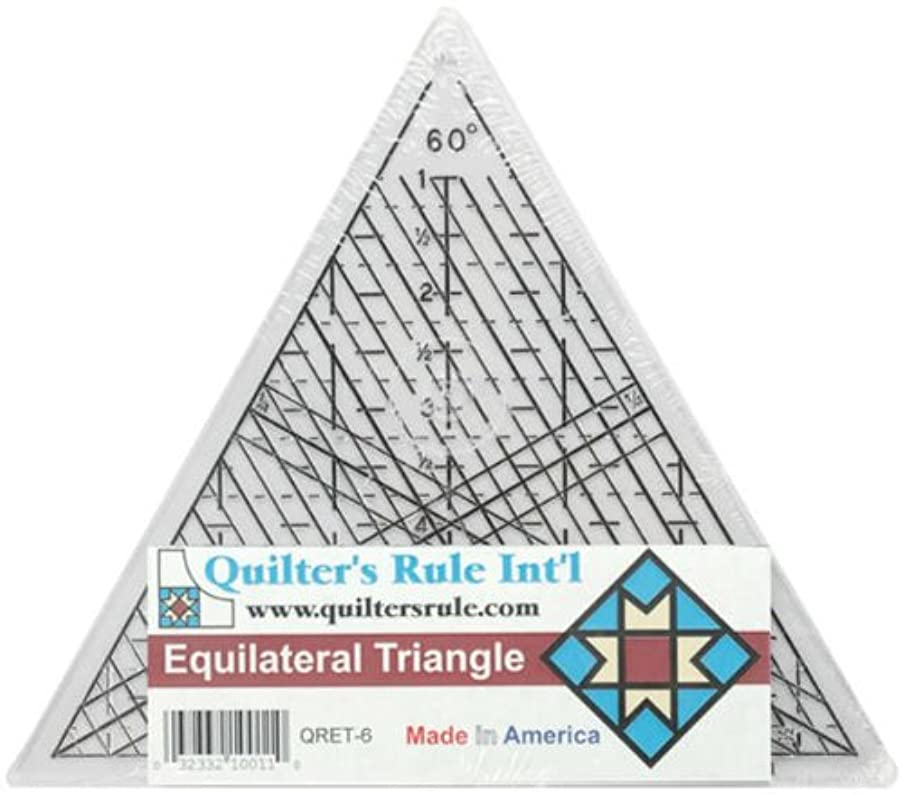 Quilter's Rule Mini Equilateral 7-3/4