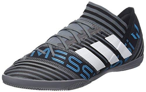 adidas Herren Nemeziz Messi Tango 17.3 IN Fußballschuhe, Grau (Grey/Footwear White/Core Black), 42 2/3 EU