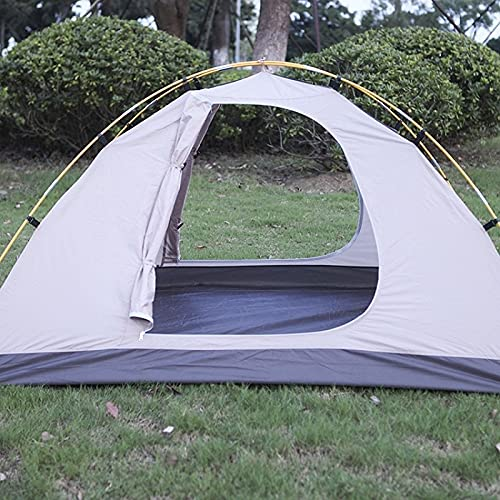 GZA Campaña Tienda Doble Capa Impermeable Picnic De Picnic Carpa Playa Cojín Toldo Viaje Playa Tienda Anti Refugio para Caminata De Pescado (Color : Tent)