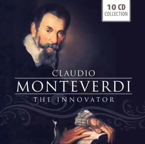 Claudio Monteverdi - The Innovator by Cadelo, Gaifa, Manno, Ensemble Concerto, Gini, Faverio, Concerto Italiaono, Ales Box set edition (2012) Audio CD