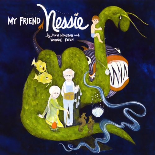 My Friend Nessie audiobook cover art