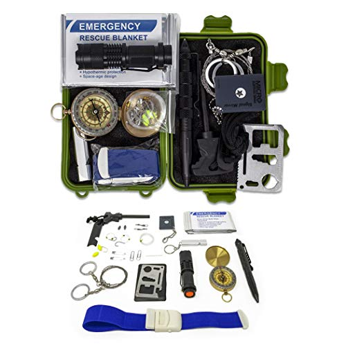Gearrific 26-Piece Watertight Survival Kit, Compact Car Emergency Set