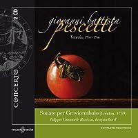 Sonate Per Gravicembalo: London 1739 by GIOVANNI BATTISTA PESCETTI (2011-01-25)