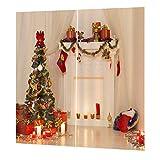 Liobo - 1 cortina impermeable para árbol de Navidad, para