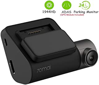 70mai Dash CAM Smart Dash CAM con WiFi Incorporado Control de Voz grabación de Emergencia Panel de Control de Aplicaciones Monitor de estacionamiento 24H 140FOV (70mai Pro)