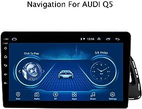 DUMXY Autoradio Android 8.1 10.1 Pulgadas Radio Coche Reproductor Mp5 MP3 Automóvil Navegación GPS con Canbus para Audi Q5 2010-2018 Apoyo Mandos de Volante/Mirror Link/Bad/USB/AUX in
