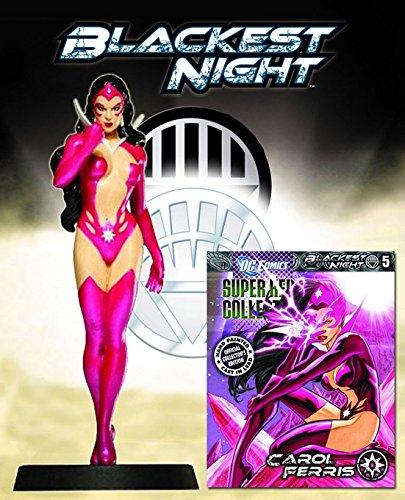 Dc Super Hero Collection Blackest Night Series Nº 5 Star Sapphire (Carol Ferris)