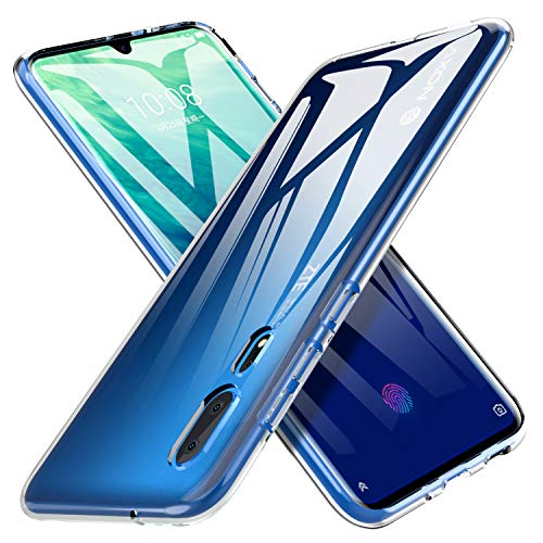 iBetter für ZTE AXON 10 Pro Hülle, Soft TPU Superdünn Cover [Slim-Fit] [Anti-Scratch] [Shock Absorption] passt für ZTE AXON 10 Pro Smartphone,klar