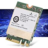 Socobeta Strong Signal Bluetooth 4.0 RTL8822BE Ngff/m.2 Interface Wireless Card Perfect Replacement for Laptop