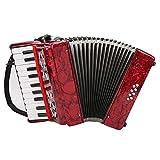 Acordeón De Piano Para Niños, Piano De Acordeón De 22 Teclas, Instrumentos Musicales De 8 Bajos Para Tocar Con FÁCIL OPERACIÓN, Para Niños Principiantes