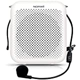 NORWII S358 Portable 2000mAH Rechargeable Voice Amplifier with Wired Microphone Headset & Waistband, Personal Microphone and Speaker for Teachers Tour Guides ect