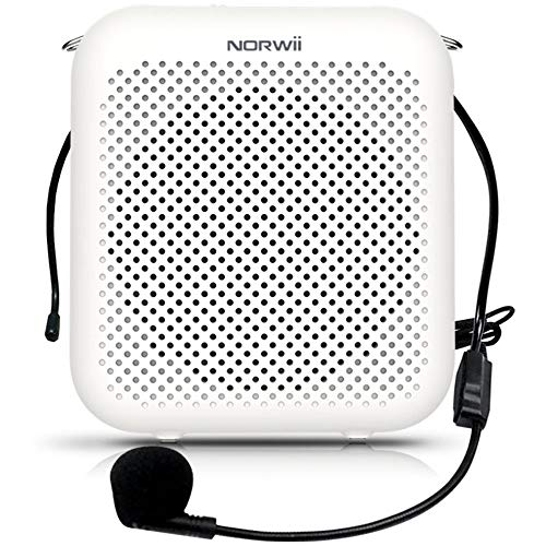 Pink TSUN Portable Voice Amplifier,10W 1800mAh Mini PA Speaker System with Headset Microphone,Waistband and LED Display,Classroom Microphone for Teachers,Tour Guides,Meeting and Presentations