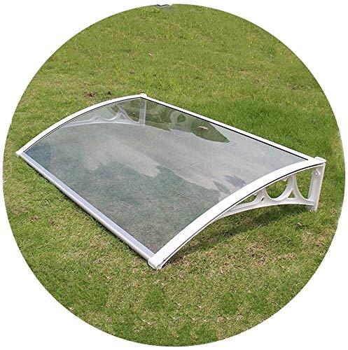 Canopy Outdoor Cover Door Window Garden Outdoor Window Garden Awning Shelter Shade Shelter Protection For Door And Window (6 Sizes) (Color : Clear-B, Size : 60cmx100cm)