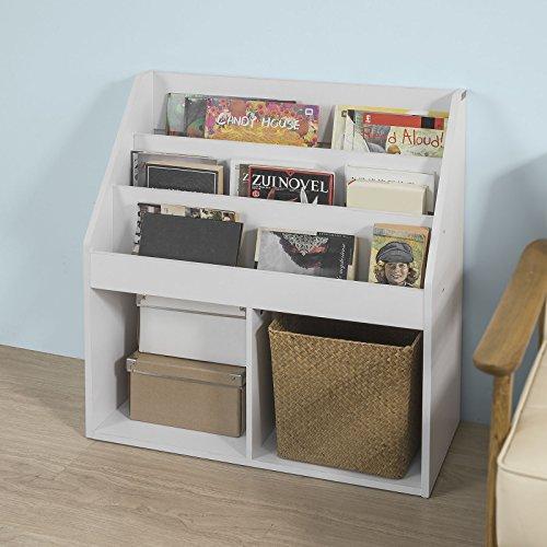Haotian White Children Kids Bookshelf