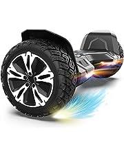 """Hoverboard Offroad Hoverboard für Kinder 8,5"""" SUV Self Balancing Scooter mit Bluetooth-Musiklautsprecher & LED Lichter E-Scooter für Jugendliche und Erwachsene 20-120kg 700W Schwarz"""