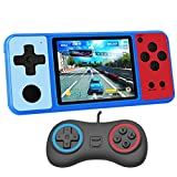 Great Boy Handheld Game Console for Kids Preloaded 380 Classic Retro Games with 3.0'' Color Display and Gamepad Rechargeable Arcade Gaming Player