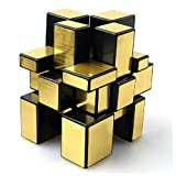 Shengshou Mirror Speed Cube, 2 Colors for Choice (Golden)