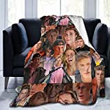 Owen Joyner Gifts for Women Throw Blankets Baby Warm ,for Sofa, Bed,Living Room, Durable Home Decor Flannel Blanket for Adult and Kids (50'x40')