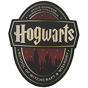 Open Road Brands Welcome to Hogwarts Harry Potter Wood Wall Decor