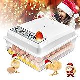 InLoveArts Incubatrice digitale per uova, incubatrice digitale per uova con rotazione automatica di 16 uova per uso domestico con funzione, con Display Digitale a LED,per Gallina, Anatra, Quaglia