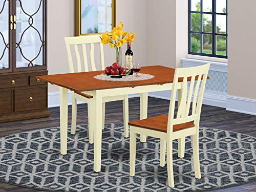 3 PC dinette set for 2-Dining Table and 2 Dining Chairs