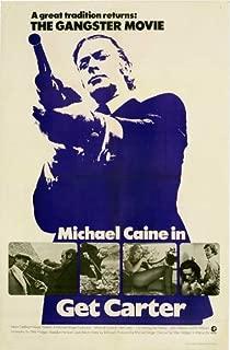 Get Carter Movie Poster (11 x 17 Inches - 28cm x 44cm) (1971) Style F -(Michael Caine)(Ian Hendry)(John Osborne)(Geraldine Moffatt)(Glynn Edwards)(Dorothy White)