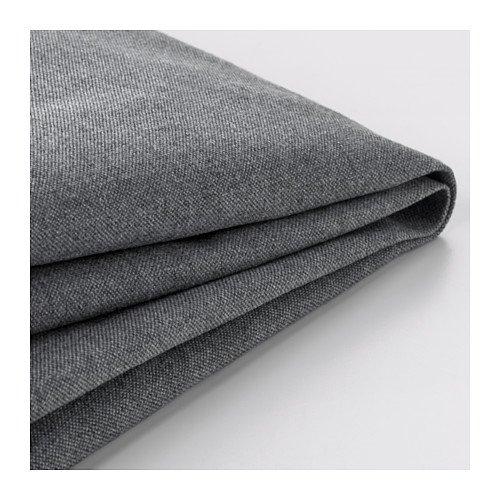 Ikea Klippan Sofabezug für 2er-Sofa, Vissle grau