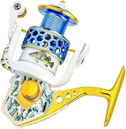 El carrete giratorio de alta potencia tiene 15 rodamientos, relación de transmisión de 5,5  1, los balancines izquierdo   derecho son intercambiables, adecuados para la pesca marítima, el mejor carret