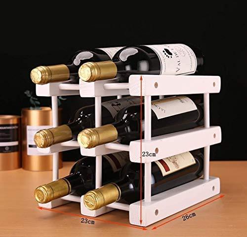 LYLSXY Estante de Vino, Estante de Vino Europeo Decoración de Vino Decoración Del Vino Inicio Botella de Vino Rack Creative Wine Cooler Soporte Soporte de Alenamiento,a